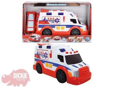 Dickie Auto SOS ambulance Sanitka v krabici 33 cm