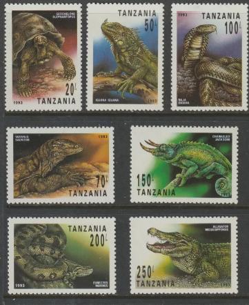 Tanzania,1993 - Filatelie