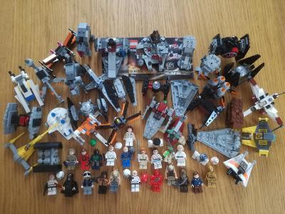 Lego Star Wars MIX setíků a figurek - SLEVA