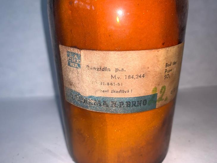 Benzidin p.a (Benzidine, C12H12N2, 250g) - Foto