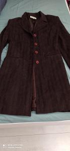 Luxusní měkkoučký kabátek s podšívkou Jacqueline Riu. Top stav!!!