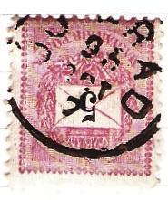 Madarsko 1888 Mi 30 raz. Uj Arad