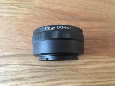 Redukce Sony FE / E na M42