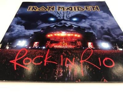 Iron Maiden: Rock in Rio, 2 CD, Jewel Case, OD KORUNKY !!!