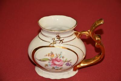 pítko s růží, Karlovarský porcelán