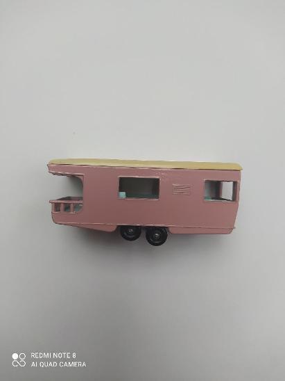 Matchbox rw Trailer caravan No.23 - sbírkový stav - Modelářství