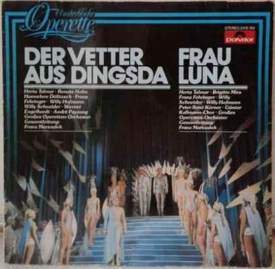LP Various - Der Vetter Aus Dingsda / Frau Luna EX