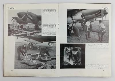 kniha Der Luftkrieg in Poland Luftwaffe Göring Německo 2. válka 1941