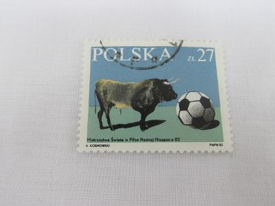 Prodávám známky  Polsko 1982, MS v kopané Španělsko