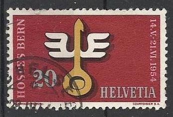 Švýcarsko razítkované, Mi. 594