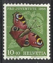 Švýcarsko razítkované, Mi. 619