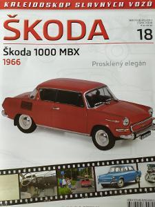 ŠKODA 1000 MBX, 1:43