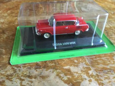 Škoda 1000 MBX DeAgostini 1:43