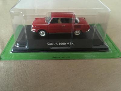DeAgostini Škoda 1000 MBX (1966) 1:43