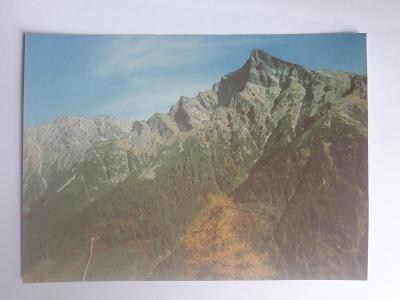 Vysoké Tatry - Pohlad od Liptovskej kopy - pohled. VF