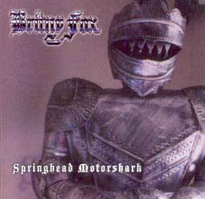 BRITNY FOX - Springhead Motorshark - CD 2003 glam metal USA