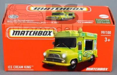 Matchbox Power Grab Ice Cream King Vehicle  GXP12 - poštovné v popise