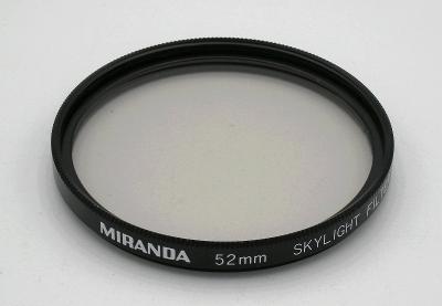 FILTR SKYLIGHT Miranda (52 mm) + POUZDRO