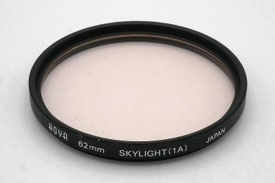 FILTR Filtr SKYLIGHT 1A, HOYA (62 mm) + POUZDRO