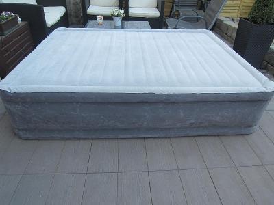 Nafukovací postel INTEX 195x150x44cm /El. kompresor/matrace/