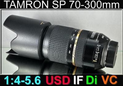 💥 pro Nikon - TAMRON SP 70-300mm 1:4-5.6 USD VC DiI *FX Tele-Zoom*TOP
