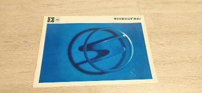Trabant 601 dobový katalog ve výborném stavu
