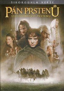 DVD - Pán prstenů: Společenstvo Prstenu (2001)