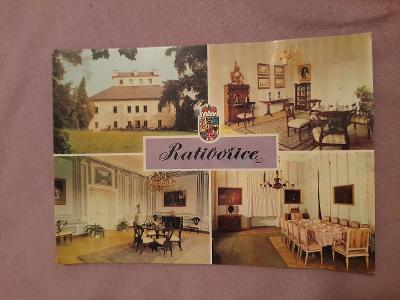 Pohlednice Ratibořice,neprošlé poštou