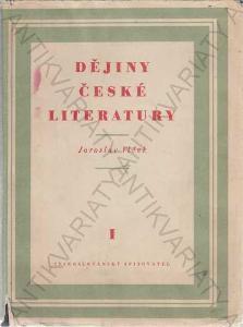 Dějiny české literatury I.