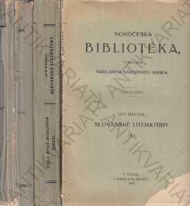 Novočeská bibliotéka díl: I. II. a III. 1922-1929