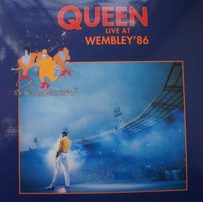 2 LP QUEEN Wembley 86  Color vinyl Raritní !
