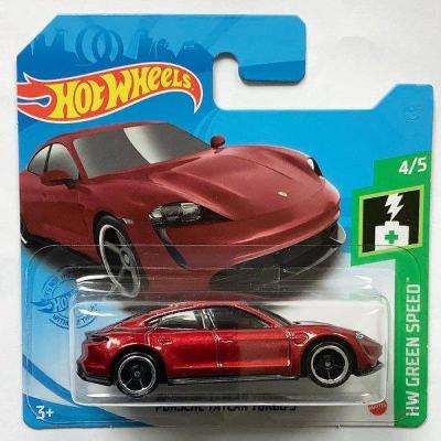 Hot Wheels Porsche Taycan Turbo S 2021