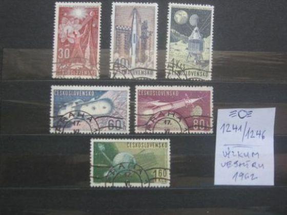 série 1241 / 1246 - Výzkum vesmíru 1962 (6) - popis - H-39 - Filatelie