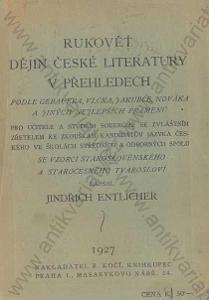 Rukověť dějin české literatury v přehledech