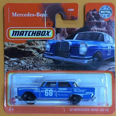 '62 Mercedes-Benz 220 SE  - Matchbox 2021  43/100 (E26-15)