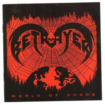 BETRAYER - World of Chaos CD ORIGINÁL NOVÉ
