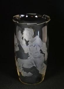 Ladislav Přenosil - váza z rytého skla