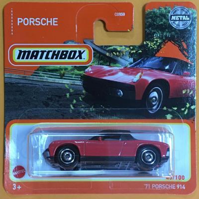 '71 Porsche 914 - Matchbox 2021 45/100 (E6-m5)