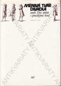 Měnivá tvář divadla F. Černý 1978 Mladá fronta