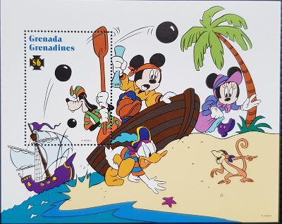 Disney Grenadines dětské, 1ks aršík