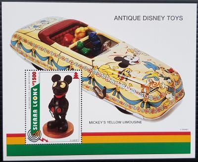 Disney Sierra Leone dětské, 1ks aršík