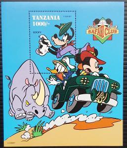 Disney Tanzanie dětské, 1ks aršík