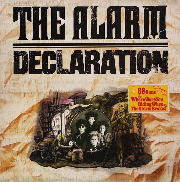 🎤 LP The Alarm – Declaration /1984 - Hudba