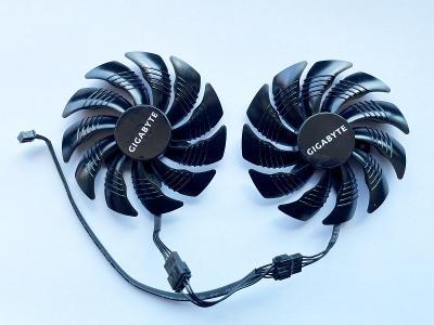 Ventilátor 88mm T129215SU pro Gigabyte AORUS RX580 RX570 4GB 8GB