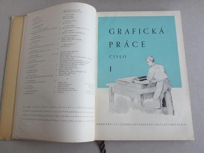 Grafická práce, ročník II., 1946 (Odborný list českos