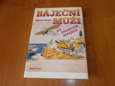 kniha Báječní muži na létajících strojích