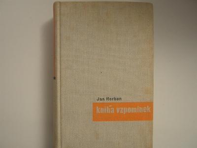 Kniha vzpomínek - Herben Jan