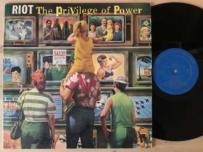 RIOT the privilege of power USA EX 1PRESS 1990