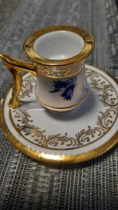 porcelánový svícínek