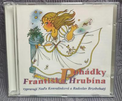 CD - Pohádky Františka Hrubína (1997), CD V PĚKNÉM STAVU